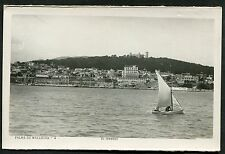 C1950's View of a Sailing Boat, El Terreno, Palma de Mallorca, Spain