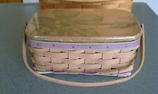 Longaberger 2015 Mother's Day Basket set with lid & protector NEW Ready to ship!