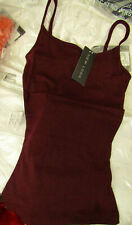 New Look Shoestring Vests Size XS new with tags