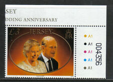 Jersey 2007 Queen Elizabeth II 60th Anniversary--Attractive Topical (1296) MNH