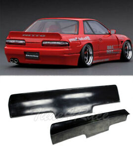 For Nissan 89-94 240SX S13 Coupe Bunny Style Rear Trunk Fiber Glass Spoiler New