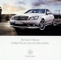 2245MB Mercedes C-Klasse Prospekt 2007 15.3.07 deutsche Ausgabe brochure