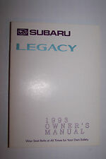1993 subaru legacy owners manual new original parts service original new