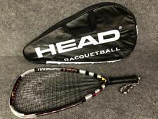 Head Liquid Metal Mega Blast 170gr Racquetball Racquet with Cover 3 5/8 Grip