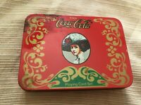 Vintage Enjoy Coca Cola 2 Decks Playing Cards Coke Drink Red Green card are new