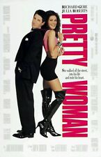 PRETTY WOMAN - Film Movie Poster - JULIA ROBERTS - RICHARD GERE
