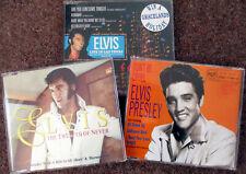 Elvis Presley 3 CD singles bundle, Rare collectors cd's in Very good condition