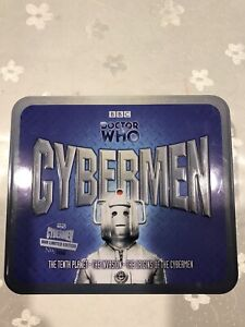 Doctor Who Cybermen 3096 of 8000 Limited Edition Tin 6 CD Audio Soundtrack BBC
