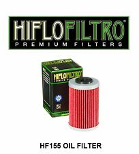 HiFlo HF155 KTM 450 525XC ATV Polaris 450 525 Outlaw MXR IRS Quad 4x4 Oil Filter