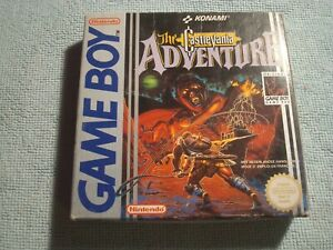 THE CASTLEVANIA ADVENTURE - Nintendo Game Boy - CIB // COMPLET // Fah