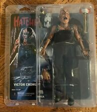 "NECA HATCHET VICTOR CROWLEY 8"" ACTION FIGURE CLOTH CLOSE"