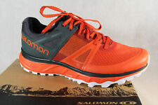 Salomon Trailster Trainers Low Shoes Sneakers Running Shoes Red/Grey New