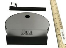 Big Chief James Bond Goldfinger - Oddjob Display Stand (Electronic) 1:6th Scale