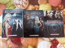 BATTLESTAR GALACTICA - Seasons 1.0, 2.0 & 2.5 Region 1 NTSC (2005 & 2006) 11-DVD