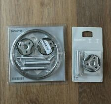 IKEA new DIGNITET Curtain Wire Cable Set 600.752.95 & Corner Section 400.780.30