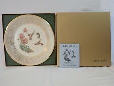 VINTAGE LENOX BOEHM BIRDS LIMITED EDITION PLATE 1974 RUFOUS HUMMINGBIRD
