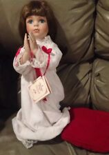 A CHRISTMAS PRAYER DOLL New Hamilton Collection Zolan Heritage Dolls 1991