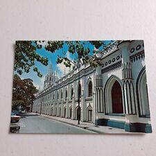 Vintage Paper Post Card 1984 Caracas Venezuela National Library