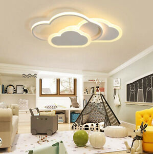 LED Deckenleuchte Wolken Dimmbar Jungen Mädchen Cartoon Designer Kinderlampe