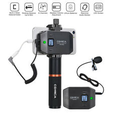 Wireless Professional Video Conference Lavalier Microphone For iPhone Smartphone