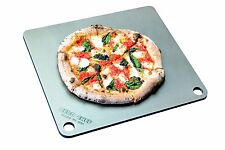 """NerdChef Steel Stone - High-Performance Baking Surface for Pizza .375"""" Thick -"""
