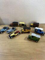 vintage matchbox lesney cars/ Trucks Bundle X9 1970 Onwards