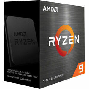 AMD Ryzen 9 5950X Desktop Processor (4.9GHz, 16 Cores, Socket AM4)