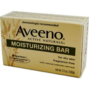 Aveeno Bar Soap Individually Wrapped Unscented 3.5 oz. 38137003623 1 Each