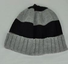 920400ed3 U.S. Polo Assn Beanie Knit Cuffed Strips Grey Black One size Winter Cold Hat
