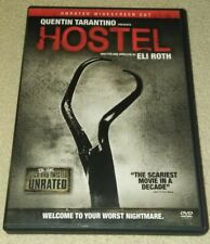 Hostel (DVD, 2006, Unrated Edition) Eli Roth  DVD *HORROR *HALLOWEEN