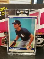 1984 Fleer Baseball #131 Don Mattingly Rookie FREE SHIPPING PSA 9?