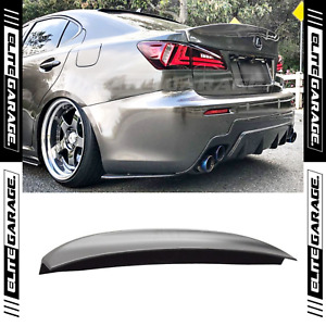 Fits 06-13 Lexus IS250 IS350 ISF - Rear K Style Trunk Boot Spoiler