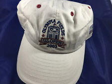 classic fit 57993 3745b US Open 2003 Olympia Fields Golf Cap Hat Adjustable Khaki New Era  Embroidered