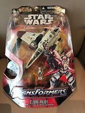 Transformers Star Wars Clone Pilot ARC-170 Starfighter NEW !!