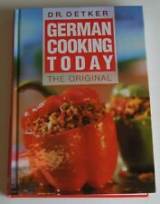 Dr Oetker German Cooking Today The Original  HC/2003/AS NEW