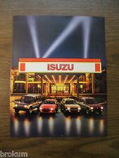 MINT 1985 ISUZU IMPULSE TROOPER I-MARK P'UP 2 PAGE SALES BROCHURE NEW (Bill)