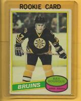 **RAY BOURQUE** Rc 1980-1981 O-Pee-Chee EX++ /140 (BOSTON BRUINS)ROOKIE!