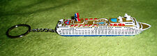 Carnival Cruise ELATION Ship Replica Key Chain Ornament Official Licensed New