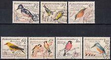 Tschechoslowakei MiNr. 1163/69 O Vögel