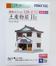 Tomytec N Scale 267751  128-2  Train Shop B2 1/150 Diorama Structure