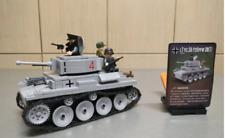 WW2 German Military Mink Tank Military Building Blocks Cannon Self-propelled