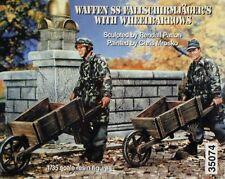 Warriors 1/35 Waffen-SS Fallschirmjager German Paratroopers w/Wheelbarrows 35074