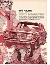 "1969 VOLVO 142S / 144S ""BEST COMPACT SEDAN""  ~  NICE ORIGINAL ARTICLE / AD"