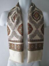 Paisley Satin Unbranded Original Vintage Scarves & Shawls