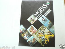 D902 PUCH MOFAS POSTER BROCHURE 1974 MODELS GERMAN 4 PAGES MAXI MOPEDS X30,MS25