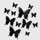 12pcs/set 3d Double Layer Pterosaur Butterfly Wall Sticker Home Decoration