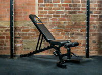 EXTREME FITNESS® Weight Bench Adjustable FID Flat/Incline/Decline Gym RRP£129.99
