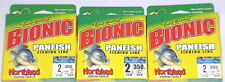Northland Tackle Bionic Panfish 2# Fishing Line (Lot of 3-350 yd/sp/Camo Bleu)