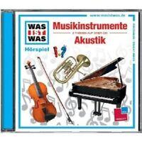 WAS IST WAS - FOLGE 43: MUSIKINSTRUMENTE/AKUSTIK  CD NEU