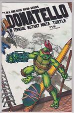 Donatello: Teenage Mutant Ninja Turtle #1 (1986) Eastman Laird Micro print run